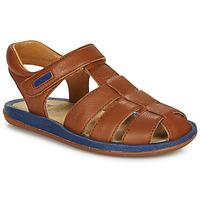 Sapatos Criança Sandálias Camper BICHO Castanho / Marinho