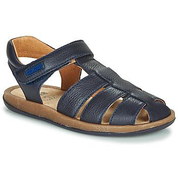 Sapatos Criança Sandálias Camper BICHO Azul / Marinho