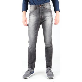 Textil Homem Calças de ganga slim Wrangler Vedda W12ZNP21Z Navy blue