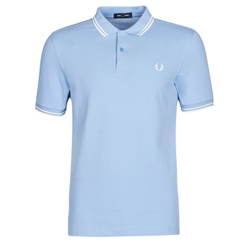 Textil Homem Polos mangas curta Fred Perry TWIN TIPPED FRED PERRY SHIRT Azul