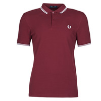 Textil Homem Polos mangas curta Fred Perry TWIN TIPPED FRED PERRY SHIRT Bordô