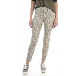 Textil Mulher Calças de ganga slim Mih THE BONN WJ1557POL Bege
