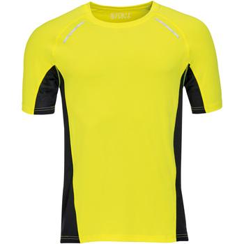 Textil Homem T-Shirt mangas curtas Sols SYDNEY MEN SPORT Amarillo