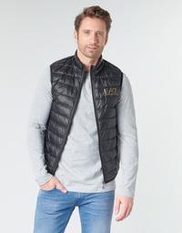Textil Homem Quispos Emporio Armani EA7 CORE ID 8NPQ02 Preto / Ouro