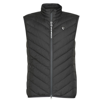 Textil Homem Quispos Emporio Armani EA7 TRAIN CORE SHIELD M DOWN LIGHT VEST Preto