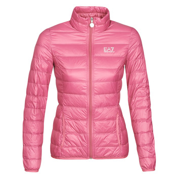 Textil Mulher Quispos Emporio Armani EA7 TRAIN CORE LADY W LT DOWN JACKET Rosa