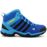 Sapatos Rapaz Sapatilhas adidas Originals TERREX AX2R MID bleu