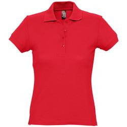 Textil Mulher Polos mangas curta Sols PASSION WOMEN COLORS Rojo