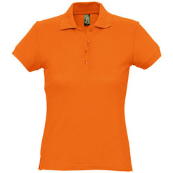 Textil Mulher Polos mangas curta Sols PASSION WOMEN COLORS Naranja