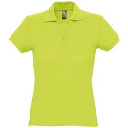 Textil Mulher Polos mangas curta Sols PASSION WOMEN COLORS Verde