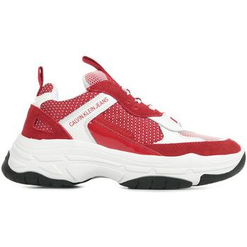 Sapatos Mulher Sapatilhas Calvin Klein Jeans Maya Vermelho