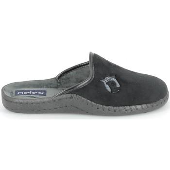 Sapatos Chinelos Boissy NELES Mule Noir Preto