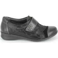 Sapatos Sapatos & Richelieu Boissy Derby 7510 Noir Texturé Preto