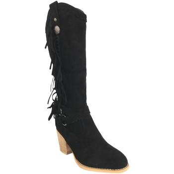 Sapatos Mulher Botas Silvian Heach B-28 Negro