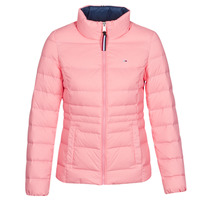 Textil Mulher Quispos Tommy Jeans MODERN DOWN JKT Rosa