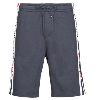 Textil Homem Shorts / Bermudas Tommy Jeans TJM BRANDED TAPE SHORT Marinho