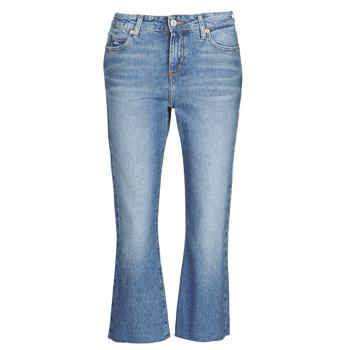 Textil Mulher Calças Jeans Tommy Jeans KATIE CROP FLARE Azul