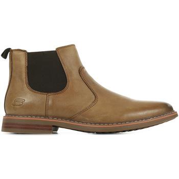 Sapatos Homem Botas baixas Skechers Bregman Morago Castanho