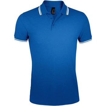 Textil Homem Polos mangas curta Sols PASADENA MODERN MEN Azul