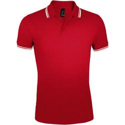 Textil Homem Polos mangas curta Sols PASADENA MODERN MEN Rojo