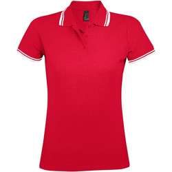 Textil Mulher Polos mangas curta Sols PASADENA MODERN WOMEN Rojo