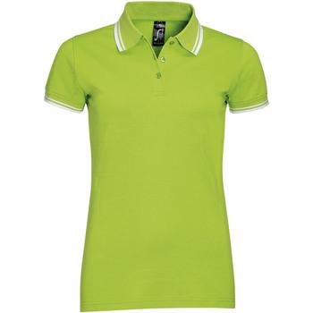 Textil Mulher Polos mangas curta Sols PASADENA MODERN WOMEN Verde