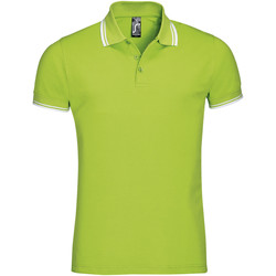Textil Homem Polos mangas curta Sols PASADENA MODERN MEN Verde