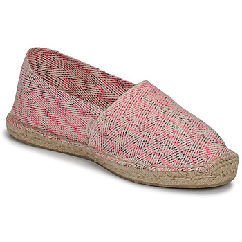 Sapatos Mulher Alpargatas Pare Gabia VP FLUO Rosa / Branco
