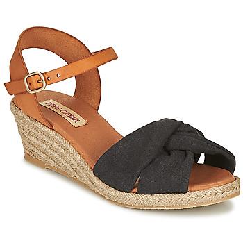 Sapatos Mulher Sandálias Pare Gabia BILMI Preto / Castanho