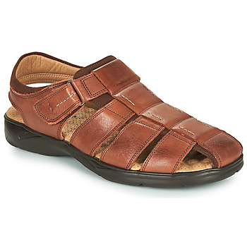 Sapatos Homem Sandálias Fluchos DOZER Castanho