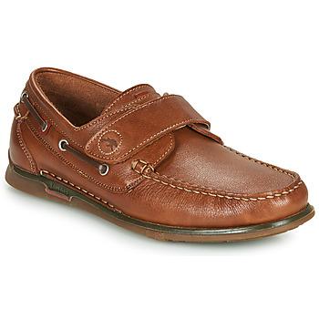 Sapatos Homem Sapato de vela Fluchos POSEIDON Castanho