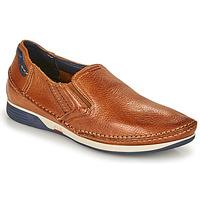 Sapatos Homem Slip on Fluchos JAMES Castanho / Marinho