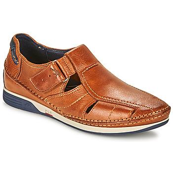 Sapatos Homem Sandálias Fluchos JAMES Castanho / Marinho / Vermelho