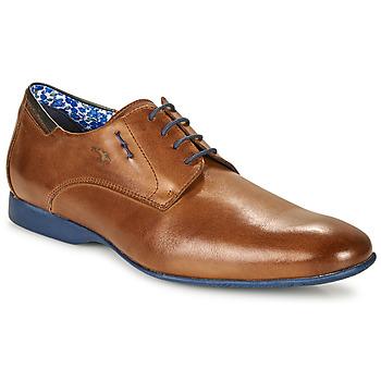 Sapatos Homem Sapatos Fluchos VESUBIO Castanho / Azul