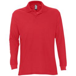 Textil Homem Polos mangas compridas Sols STAR MODERN MEN Rojo