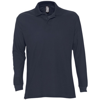 Textil Homem Polos mangas compridas Sols STAR MODERN MEN Azul