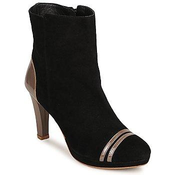 Sapatos Mulher Botins C.Petula KIMBER Preto