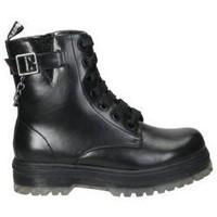 Sapatos Rapaz Botas baixas Asso Botins  ag3801 menina preto Noir