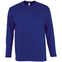 Textil Homem T-shirt mangas compridas Sols MONARCH COLORS MEN Azul