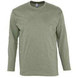 Textil Homem T-shirt mangas compridas Sols MONARCH COLORS MEN Beige