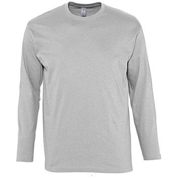Textil Homem T-shirt mangas compridas Sols MONARCH COLORS MEN Gris