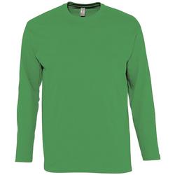 Textil Homem T-shirt mangas compridas Sols MONARCH COLORS MEN Verde