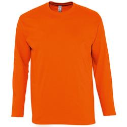 Textil Homem T-shirt mangas compridas Sols MONARCH COLORS MEN Naranja
