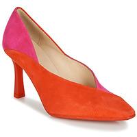 Sapatos Mulher Escarpim Hispanitas PARIS-8 Vermelho / Rosa