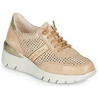 Sapatos Mulher Sapatilhas Hispanitas RUTH Rosa / Ouro / Branco