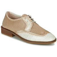 Sapatos Mulher Sapatos Hispanitas LONDRES Bege / Branco