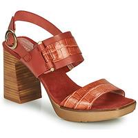 Sapatos Mulher Sandálias Hispanitas PETRA Castanho