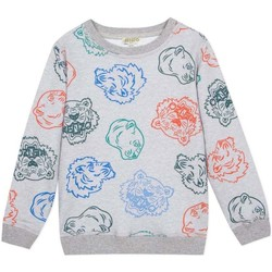 Textil Rapaz Sweats Kenzo Kids GEORGES CAMISETA cinza