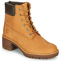 Sapatos Mulher Botins Timberland KINSLEY 6 IN WP BOOT Trigo