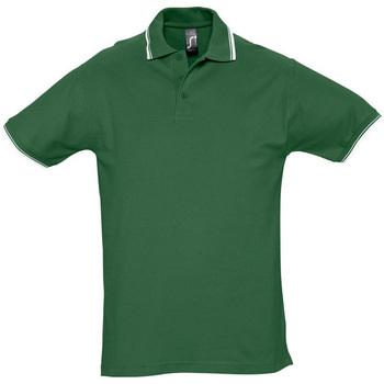 Textil Homem Polos mangas curta Sols PRACTICE GOLF SPORT Verde